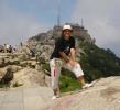 """Montaña sagrada taoísta """"Taishan"""" en la provincia de Shandong<br /> 7.200 escalones de piedra hasta la cima<br /> No hace falta esperar para emprender,<br /> Ni conseguir para perseverar.<br /> Williams d' Orange"""